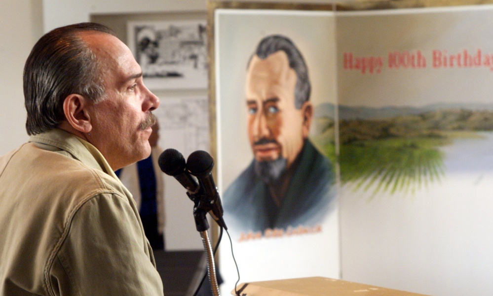 """Thomas Steinbeck, son of """"Grapes of Wrath"""" writer John Steinbeck was an author and screenwriter in his own right. He adapted several of his father's books for movies."""