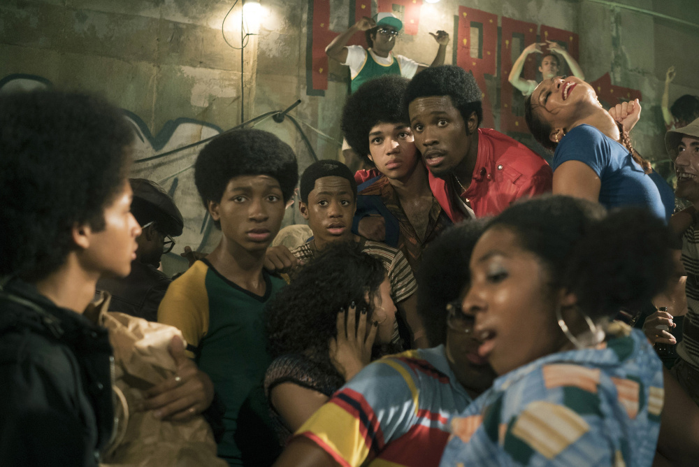 "A scene from ""The Get Down."""