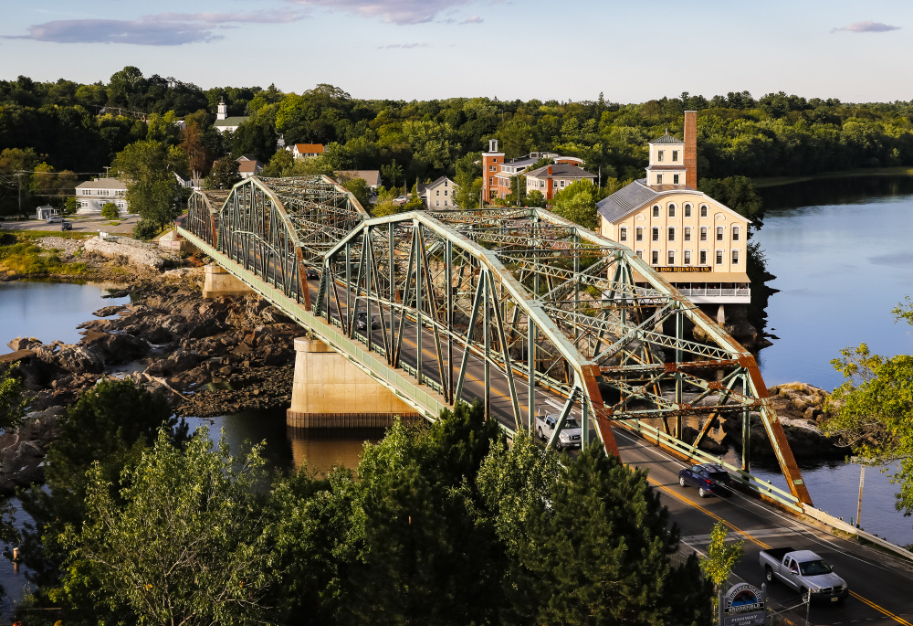 Maine Deprtament of Transportation lowered the weight limit on the Frank J. Wood bridge to 25 tons.