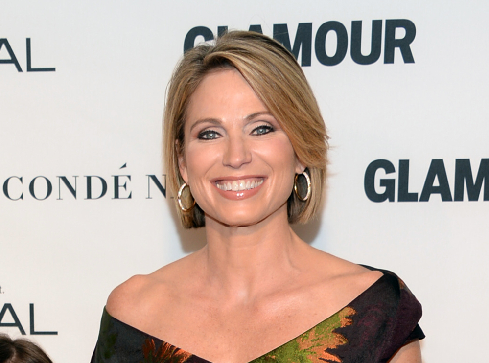 """""""Good Morning America"""" host Amy Robach has apologized for using a term for African Americans on Monday's broadcast of the ABC program."""
