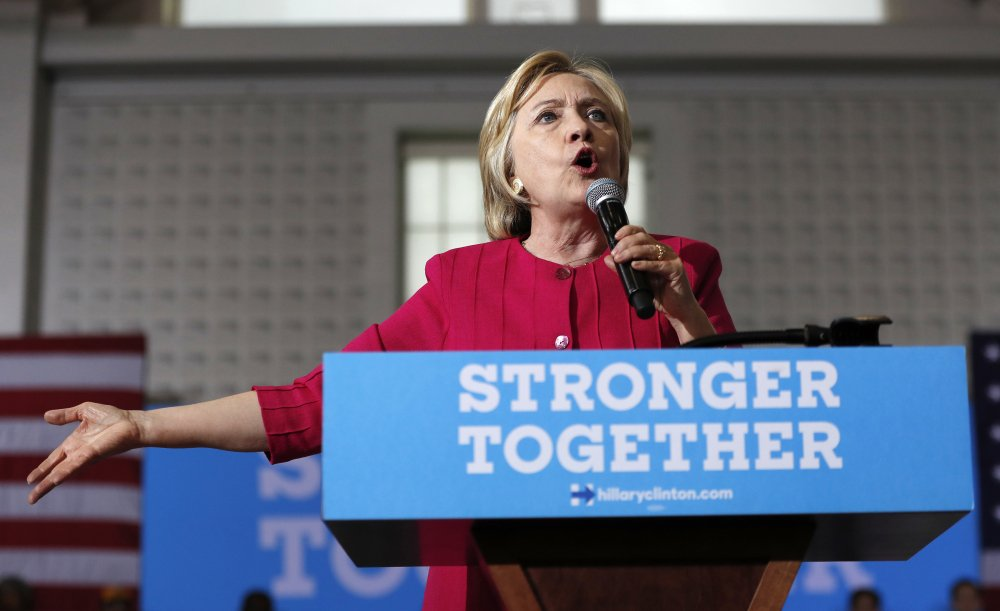 More than half the people outside the government who met with Hillary Clinton while she was secretary of state gave money, either personally or through companies or groups, to the Clinton Foundation, indicating an ethics challenge if she's elected president.
