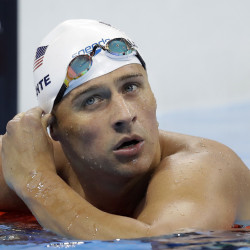 Ryan Lochte of the United States Olympic swim team has been charged by Brazilian police with filing a false robbery report.