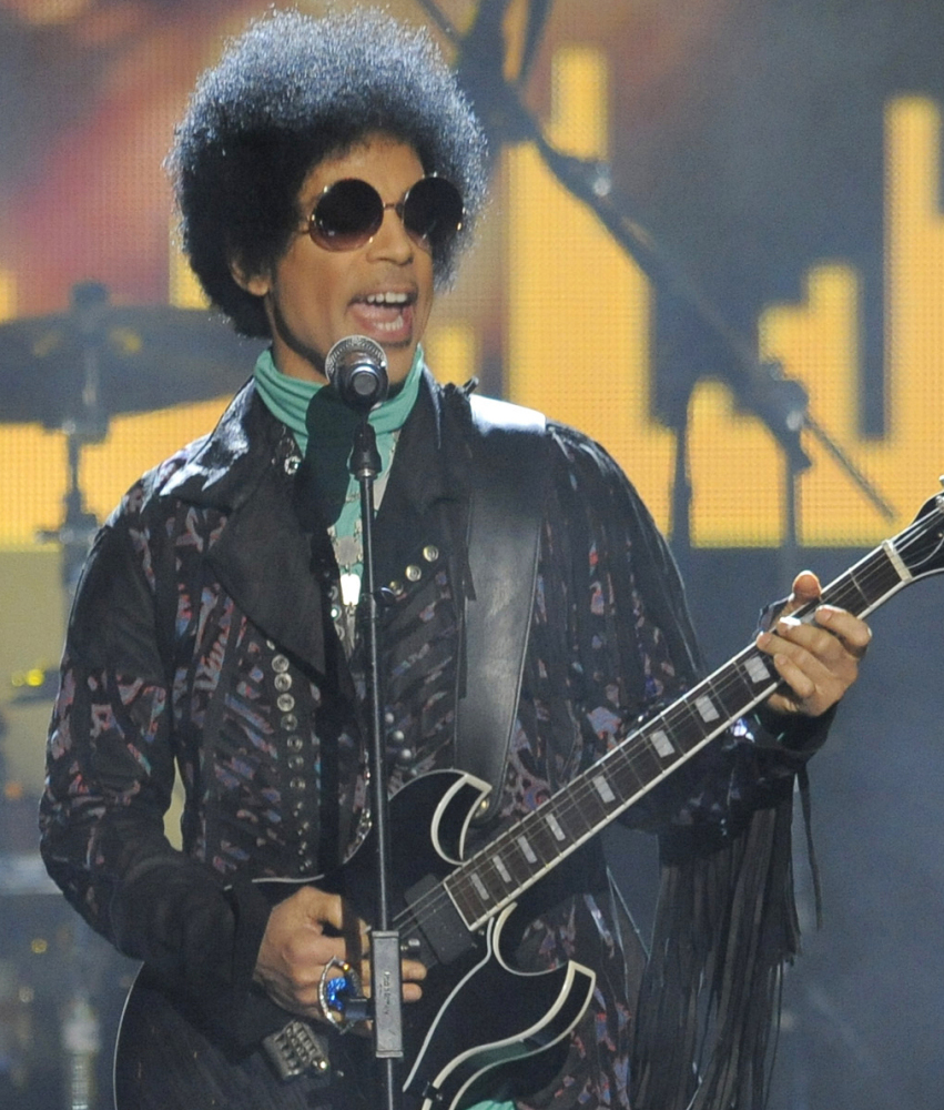 Prince performs at the Billboard Music Awards in Las Vegas in 2013.
