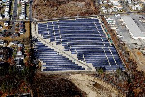 The 2.3 megawatt Indian Orchard solar project in Springfield, Mass., can generate enough electricity to serve 850 homes. It was built on a closed landfill by Eversource Energy, the regional utility, in 2011.
