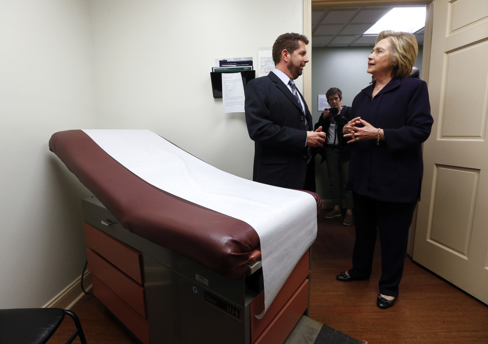 Democratic presidential nominee Hillary Clinton has a long list of proposed fixes for the Affordable Care Act while Republican Donald Trump, would dismantle the legislation.