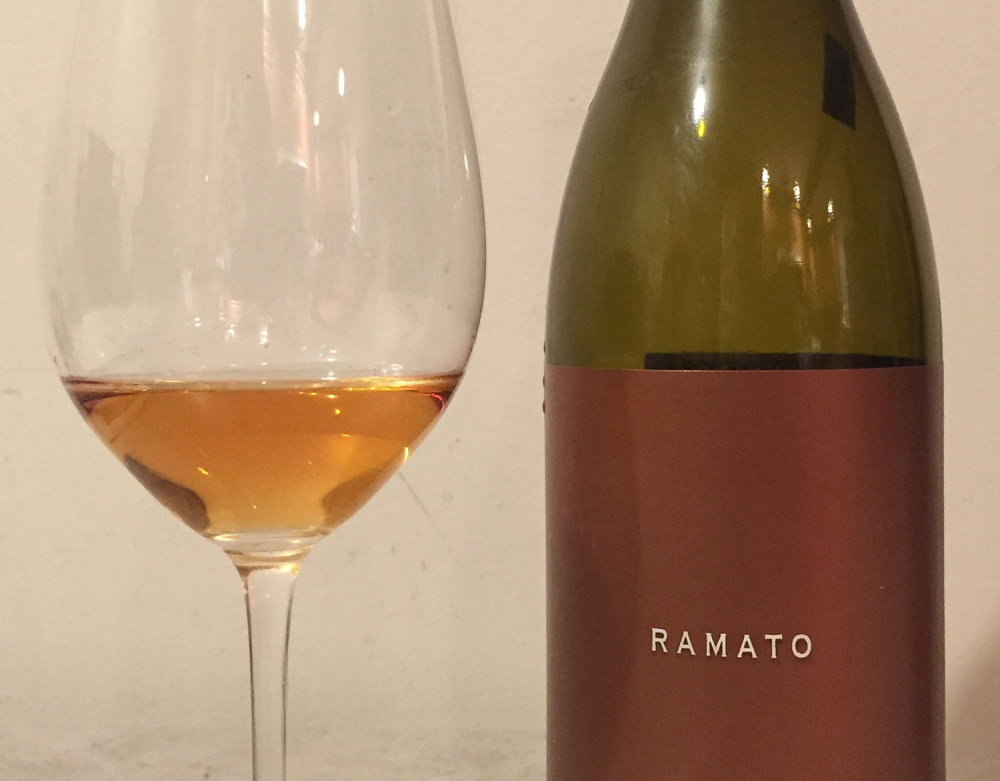 Channing Daughters Ramato is one of the orange wines sometimes available in Maine.