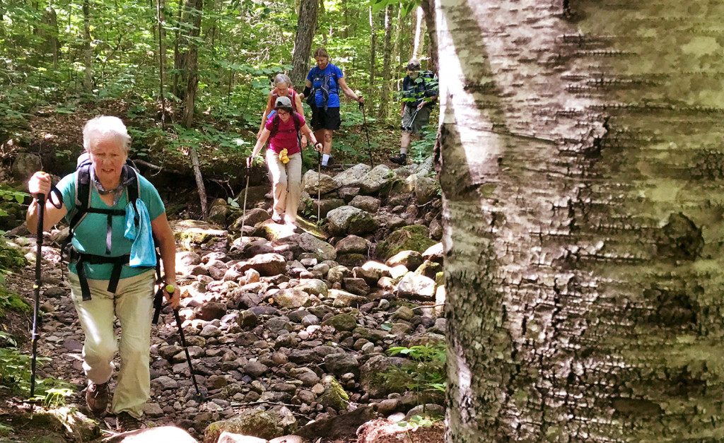 Group's weekly hikes inspire a passion for the outdoors