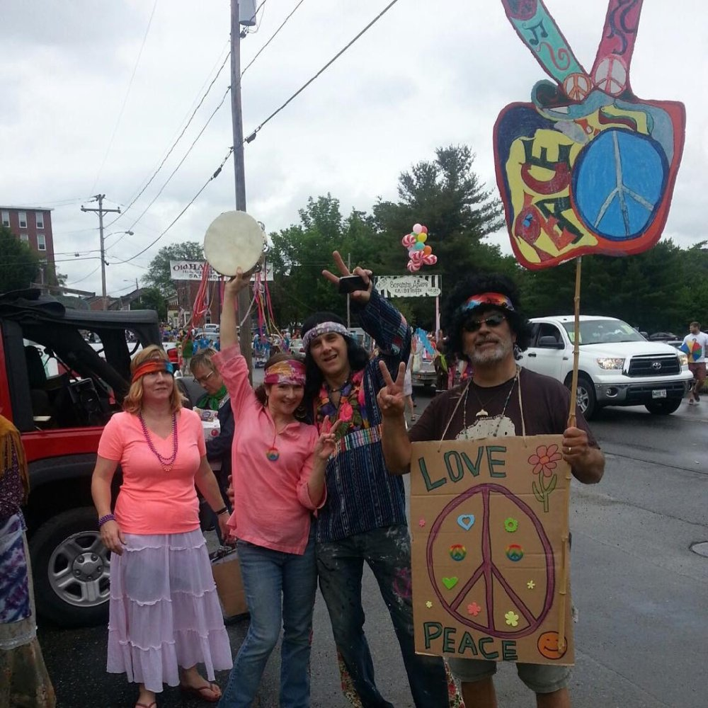 Attendees from last years Woodstock Revival and Art Walk.