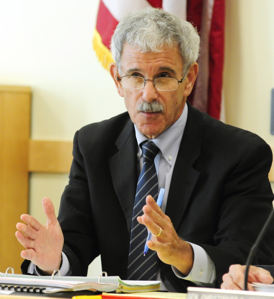 Sen. Roger Katz, R-Augusta, shown in 2014, said he'd like to hear more from the state about a proposal to build a new psychiatric facility in Augusta.