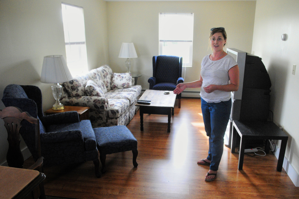 ... she opened earlier this month for men who are recovering drug addicts