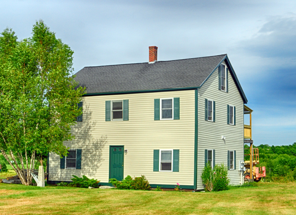 This house on Town Farm Road in Hallowell has been renovated for use as an Oxford House, which is a place for recovering drug addicts to live.