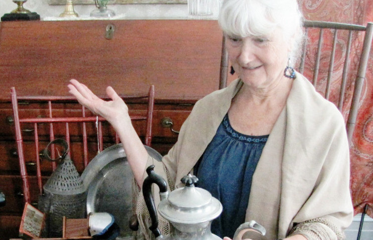 "Patti Baldwin is event chairperson of Skowhegan History House and Museum and Research Center's ""What Do We Do With Gramma's Stuff?"" talk set for 2-4 p.m. Sunday, Aug. 21, in Skowhegan."