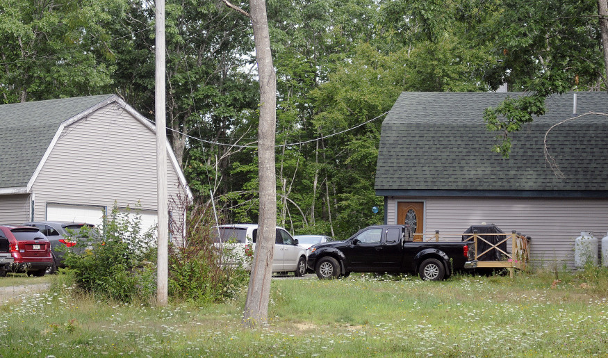 A home seen Tuesday morning at 130 Somerville Road, Jefferson, is where authorities say Shane Prior shot and wounded his ex-girlfriend, Michelle Creamer, and then led police on a chase before shooting and killing himself.