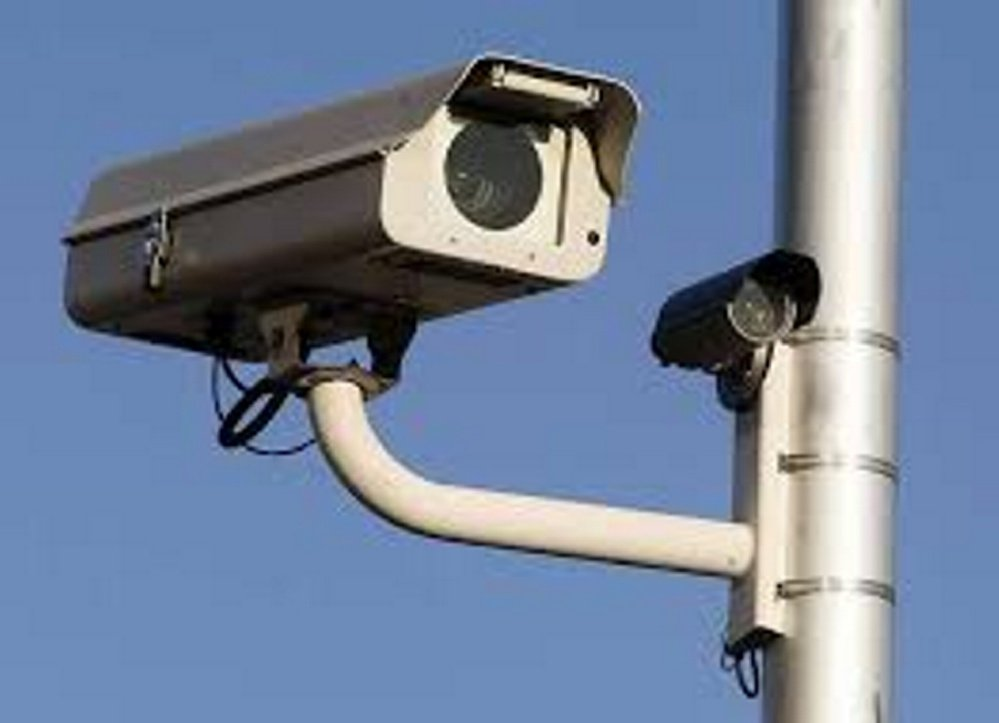 Traffic cameras similar to the one pictured here have been installed around downtown Skowhegan. Town officials say they are to be used to control traffic lights, not monitor traffic violations.