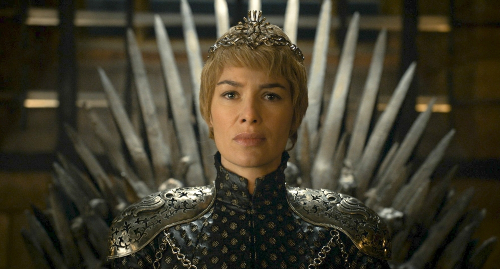 "Lena Headey appears in a scene from ""Game of Thrones."" The HBO series will end after its eighth season, the network announced, but a spinoff is possible."