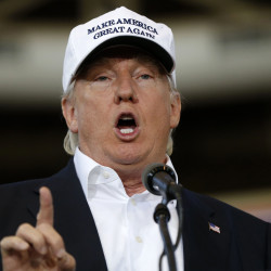 Republican presidential candidate Donald Trump has promised he'll make a major speech on illegal immigration today. In meetings recently with Hispanic supporters, he suggested he could be open to allowing some people living in the country illegally to stay.. Gerald Herbert/Associated Press