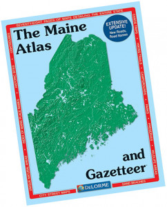 The Maine Atlas and Gazetteer was an indispensable resource for Maine hikers and travelers – especially in the year before consumer GPS devices.