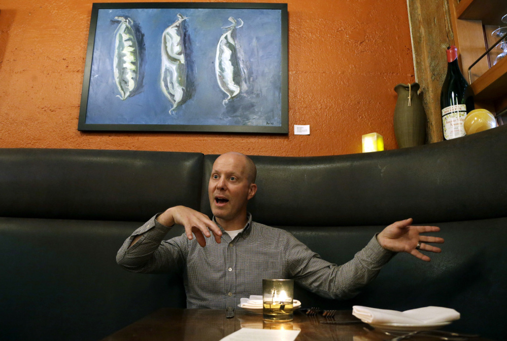 """Everyone is looking at this because there are external issues that are pushing restaurants to look at their bottom line,"" says Scott Dolich of Park Kitchen in Portland, Ore., which dropped tips and raised prices in June. He said he can now pay staff equitably."