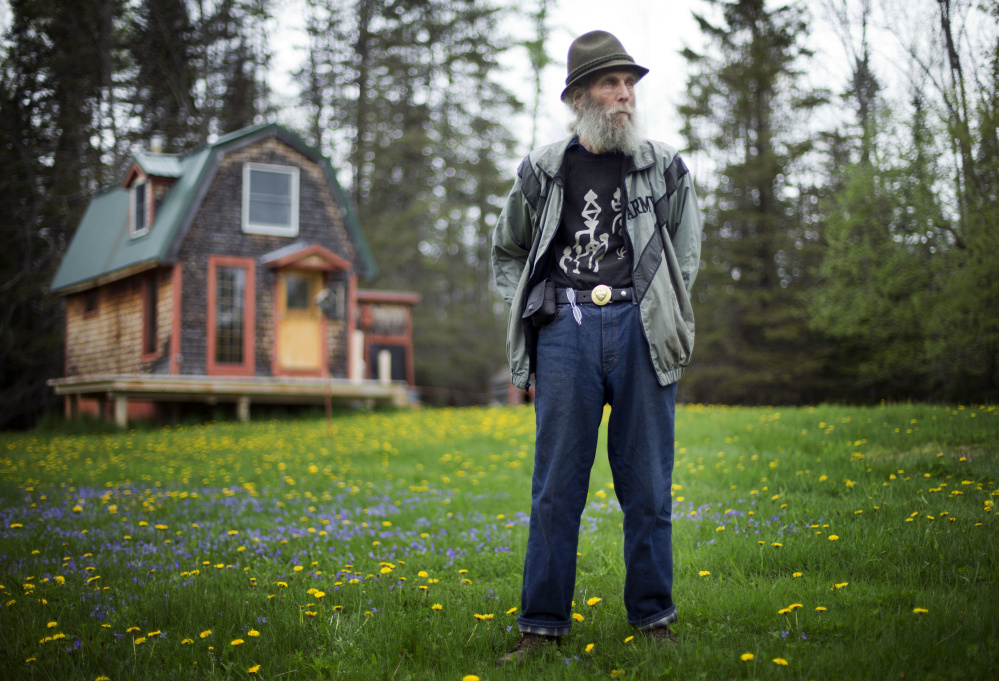 His face the image of the company he co-founded, the late Burt Shavitz, shown in a 2014 file photo, was right at home in a 300-square-foot shelter in rural Parkman.