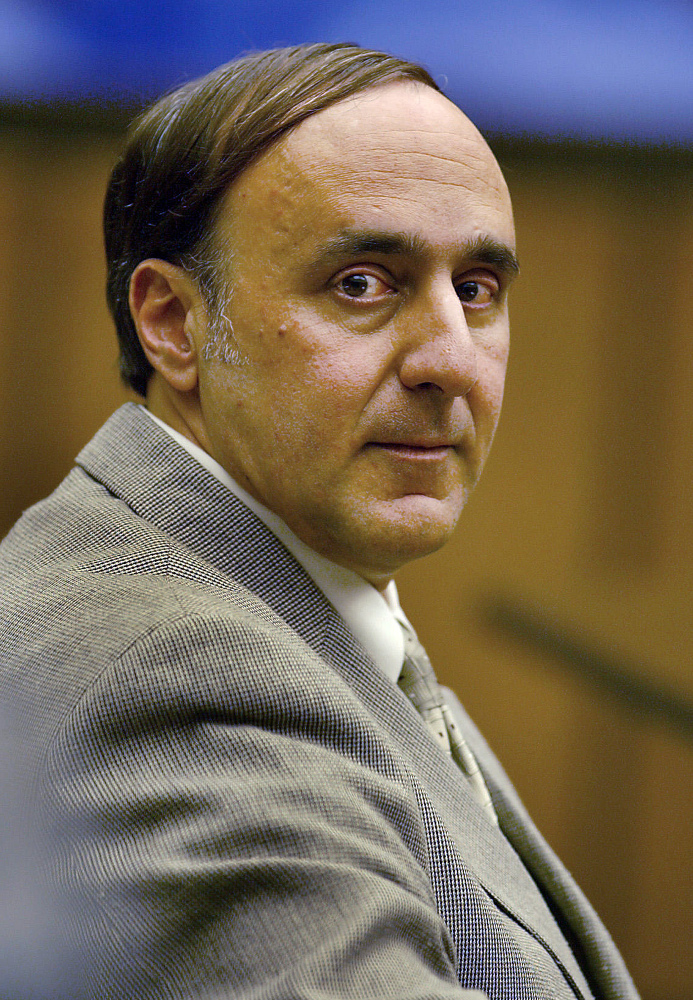 Steven Caruso in 2003. Caruso is serving a life sentence in the January 2000 package-bomb death of Sandra Berfield.