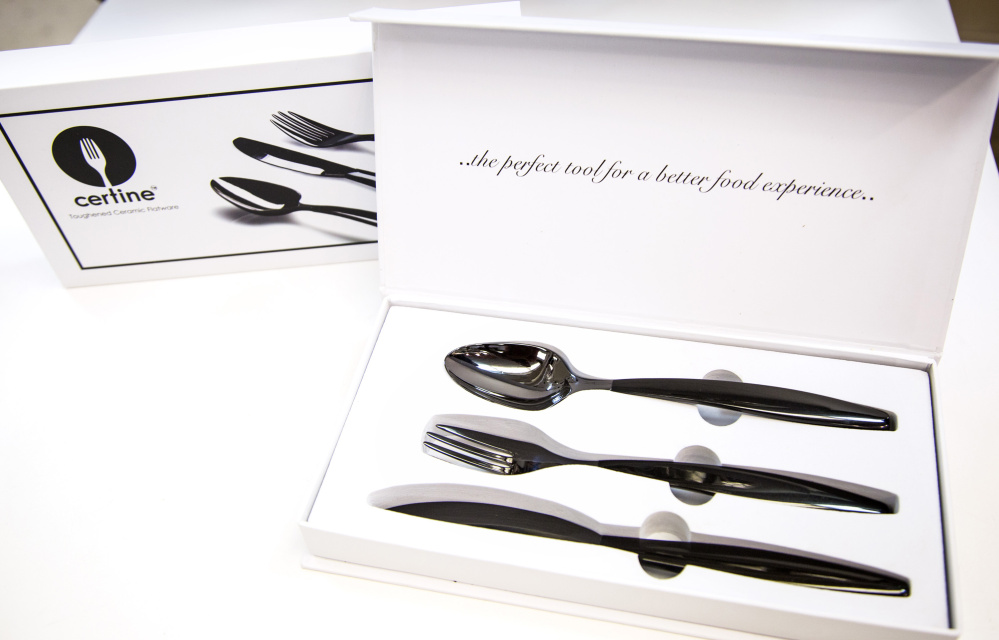 Certine flatware is designed to improve utility and flavor.