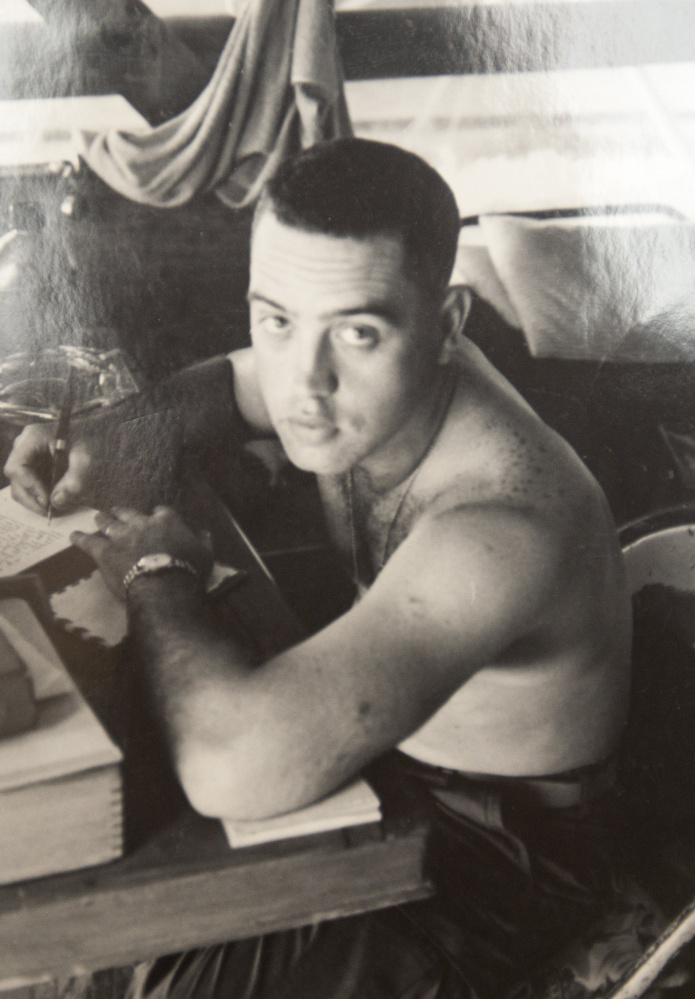 """After his Naval Academy graduation in 1964, Robert Timberg chose service as a Marines infantry officer """"because I couldn't imagine anything tougher than that."""""""