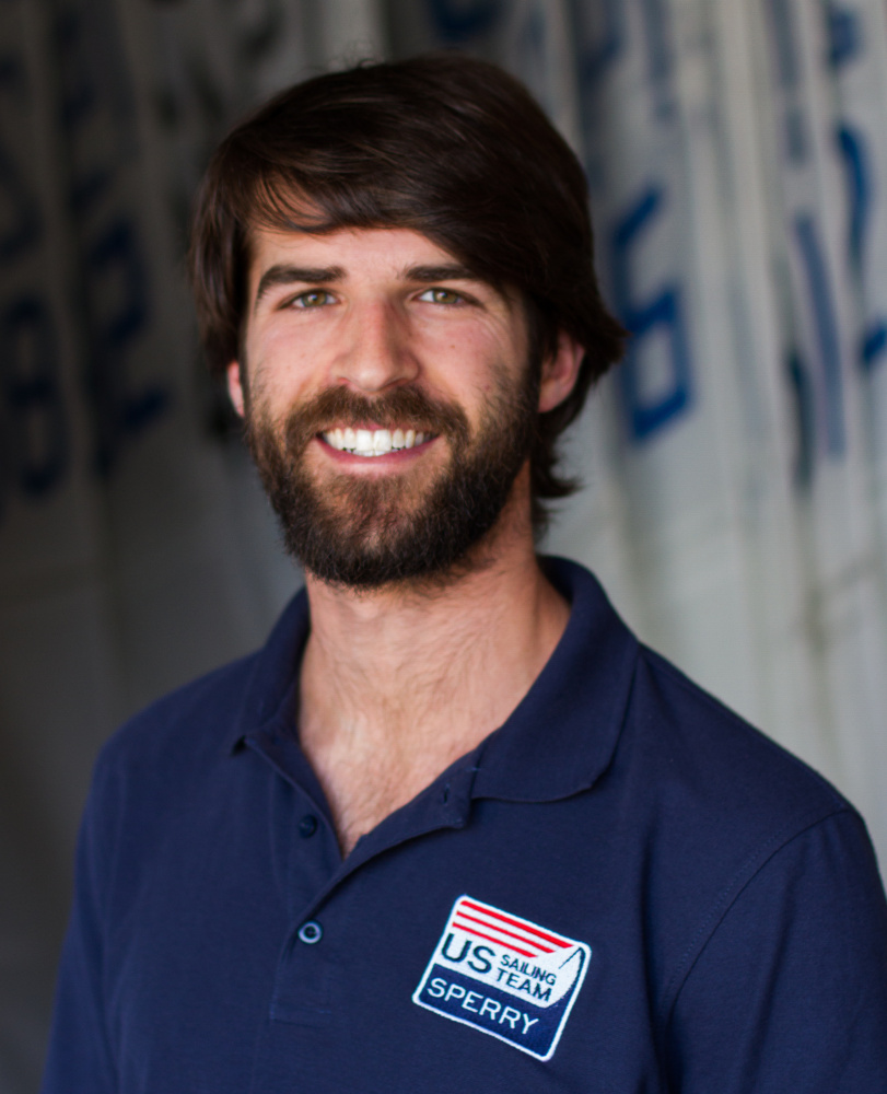 Hugh Freund of South Freeport will compete in the Sonar class at the Rio Paralympics, starting with his first race on Monday afternoon.