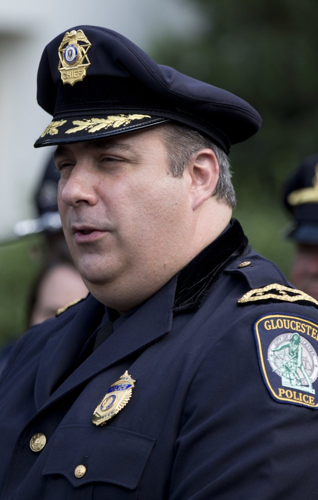 """The city's internal investigation of Leonard Campanello has """"nothing to do"""" with his duties as police chief in Gloucester, Mass., his lawyer says."""