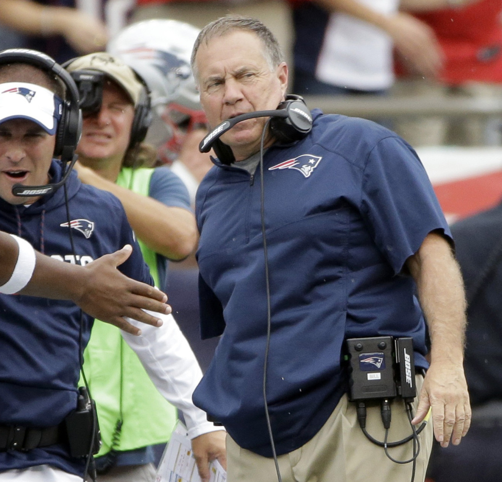 New England Coach Bill Belichick doesn't have much time to prepare quarterback Jacoby Brissett for a possible first NFL start Thursday night against the Houston Texans.
