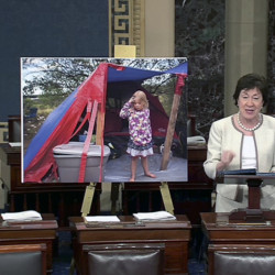 Sen. Susan Collins, R-Maine, is calling for reforms in federal anti-poverty programs. In a floor speech Wednesday to introduce her bill, she highlighted the Maine Sunday Telegram's story on a 5-year-old girl who lived in Portland's woods this summer as an example of the gaps in existing programs.