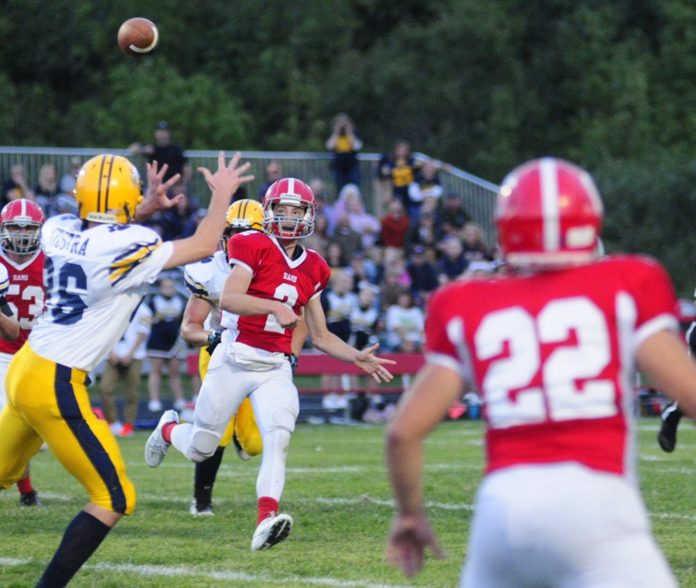 Cony Gets Measure Of Revenge Central Maine