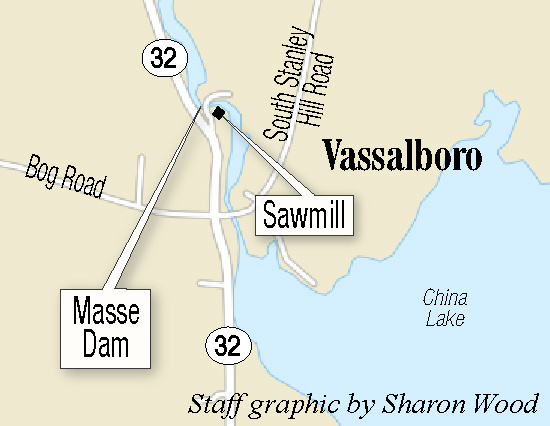 China Lake Maine Map.Historic Vassalboro Sawmill S Removal Is A Mixed Blessing For Town