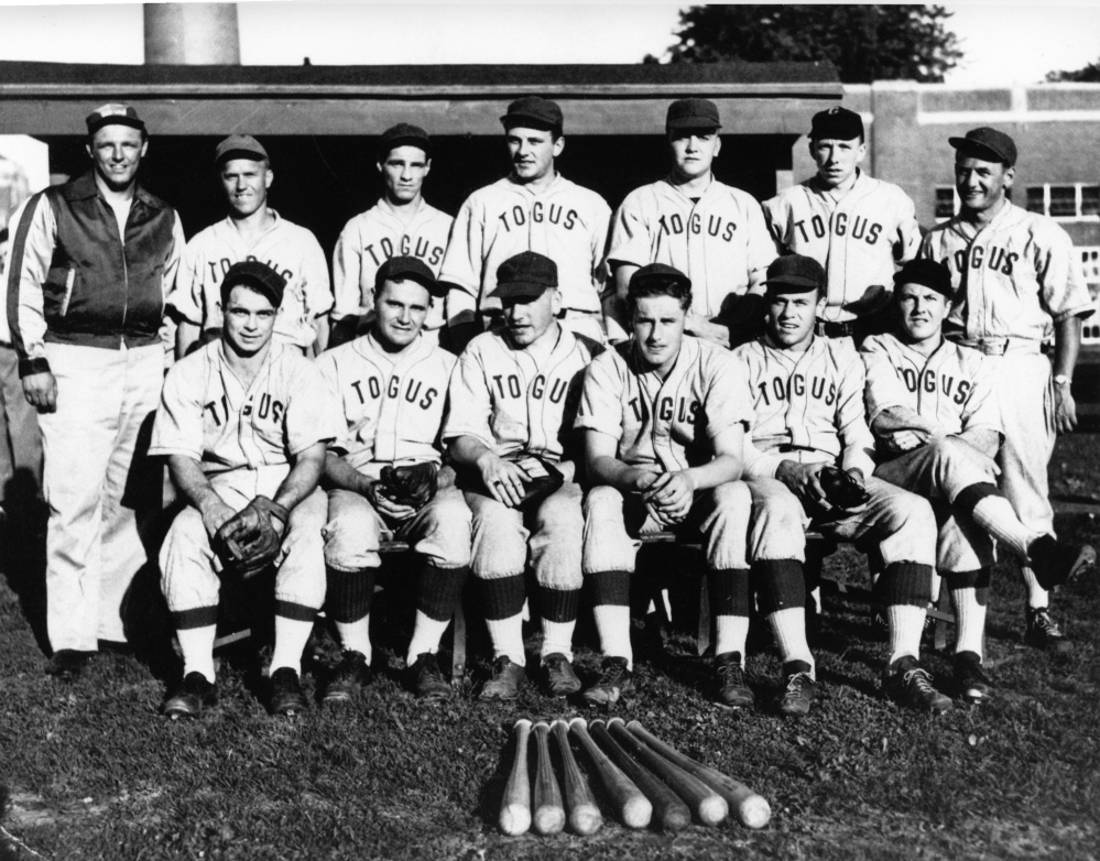 A Togus baseball team from 1930s or 1940s.