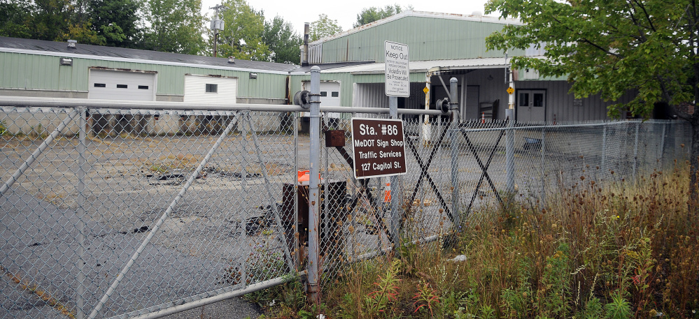The state issued a request for qualifications seeking bidders to buy the former Maine Department of Transportation maintenance complex on Capitol Street, tear it down and build at least 89,000 square feet of office space for state workers.
