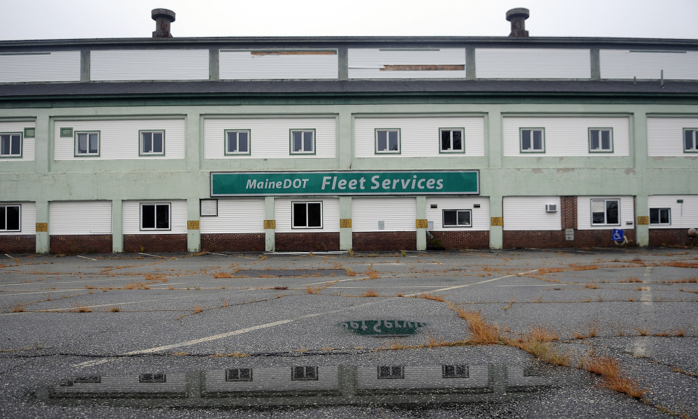 The state is looking for a developer to buy the former Maine Department of Transportation maintenance facility, tear it down, build new office space and lease it back to the state.