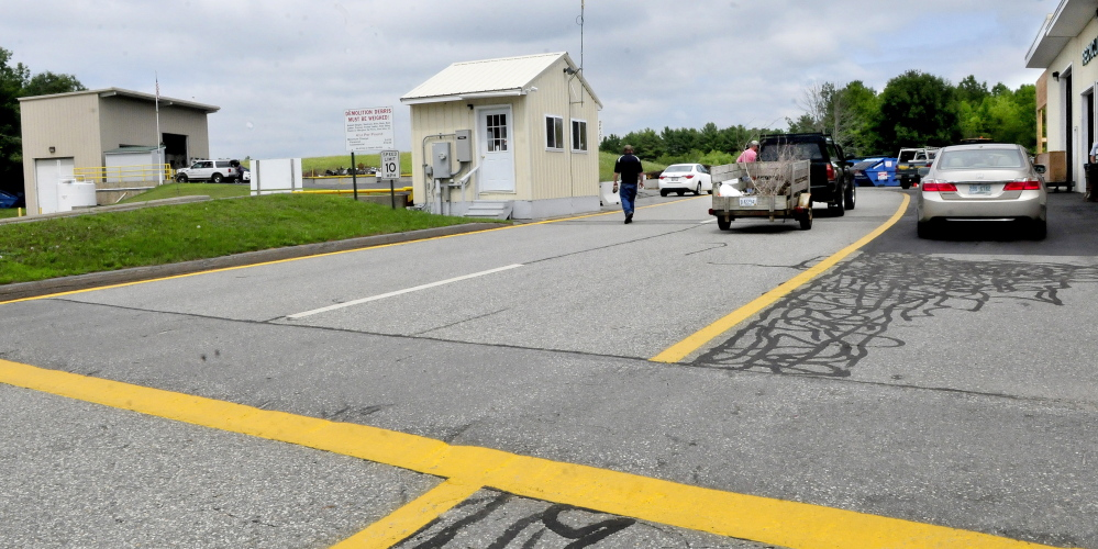 Selectmen are considering changing the schedule of the China Transfer Station so it will be open on Tuesdays instead of Wednesdays as part of its four-day service.