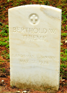 Berthold W. Thieme, who is buried in the Togus National Cemetery, is a veteran of the Franco-Prussian War of 1870 who came to the U.S. in 1872 and arrived at Togus in 1888. He served as the leader of the National Home Band for nearly 40 years.