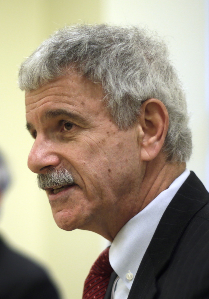Sen. Roger Katz, R-Augusta, shown in this 2014 file photo, said he and other members of the Augusta delegation have been frustrated by a lack of information about a proposed new psychiatric facility in Augusta.