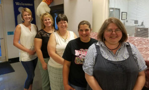 Forest Hills School recently announced new staff for the 2016-17 academic years, they are, from left, Alicia Birmingham, Vanessa Dunning, Karla Talpey, Theresa Worster and DKjerstin Winn.