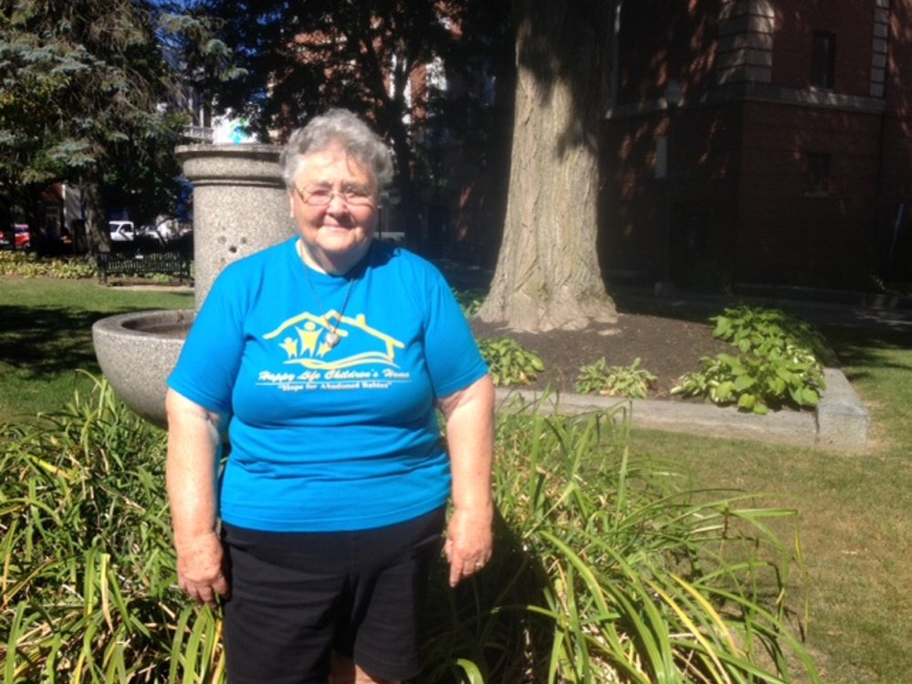 Betsy Drumm, 80, of Skowhegan, will head to Kenya, Africa, on Oct. 7 to help at an orphanage and school, as she did last year.