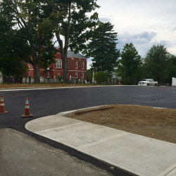 The Farmington Board of Selectmen will be voting on proposed parking restrictions for the newly completed Church Street municipal parking lot.