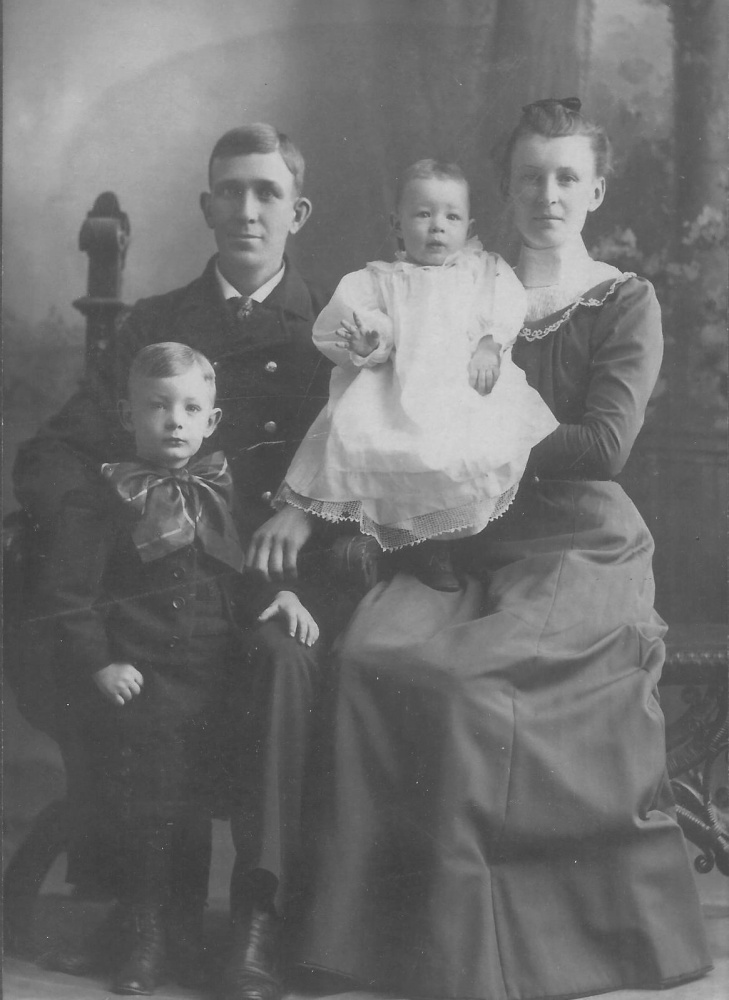 George Proctor, the first firefighter from the Waterville Fire Department who died, in 1901, is seen in this undated photo. Great-great-grandchildren of Proctor will be on hand Sunday at the fire station for an unveiling of a new monument honoring Proctor and other city firefighters who died while on active duty.