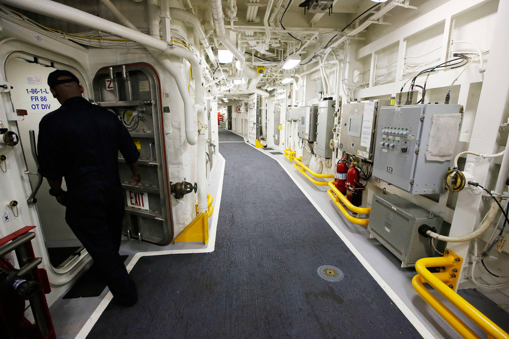 Navy gives an inside look at Zumwalt - Kennebec Journal and Morning Sentinel & Navy gives an inside look at Zumwalt - Kennebec Journal and Morning ...