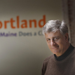 Steve Hewins, former executive director of Downtown Portland, has been named director of the state's restaurant and innkeepers associations.