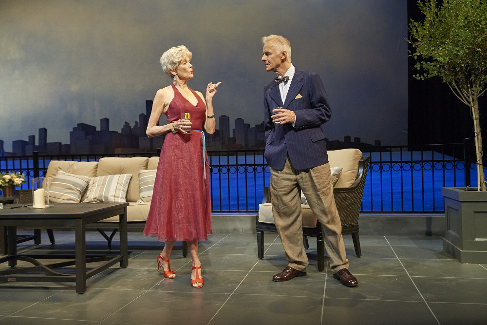 """Rae C. Wright and John Hadden in """"Later Life."""""""