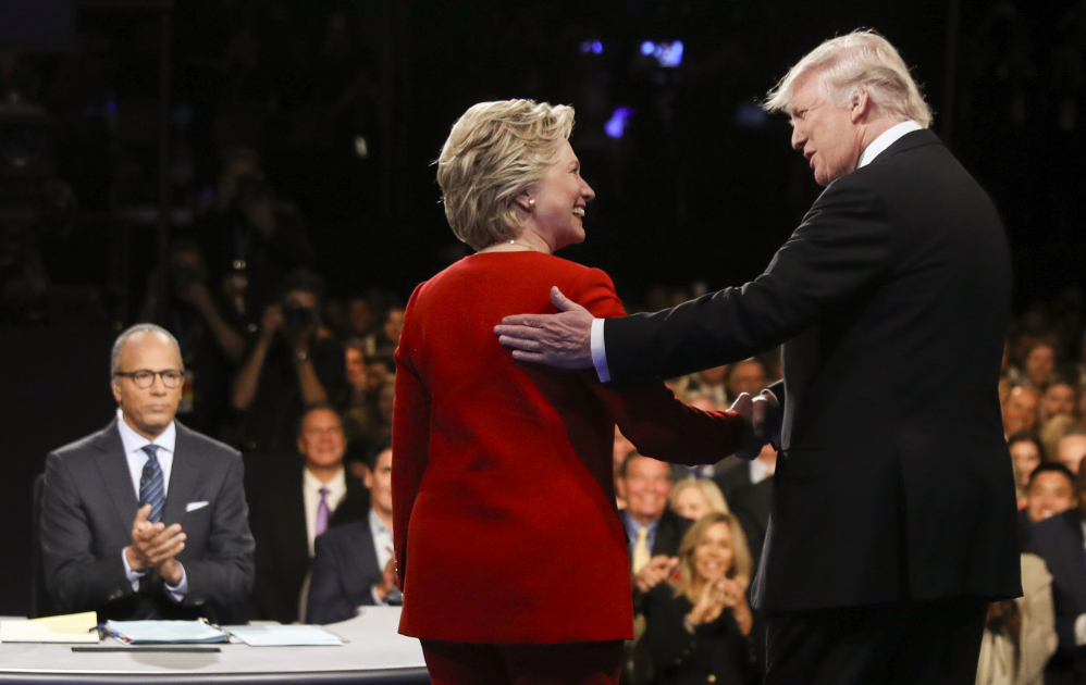 A show of civility between Democrat Hillary Clinton and Republican Donald Trump might be even less convincing Sunday night in St. Louis than it was Sept. 26 on Long Island.