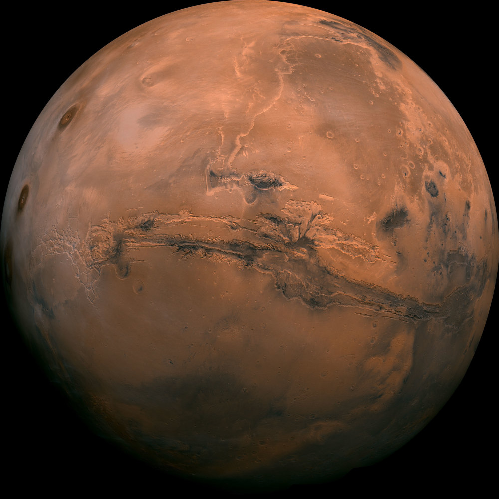 President Obama sought Tuesday to reinvigorate his call for the U.S. to send humans to Mars, showcasing partnerships between government and commercial companies.