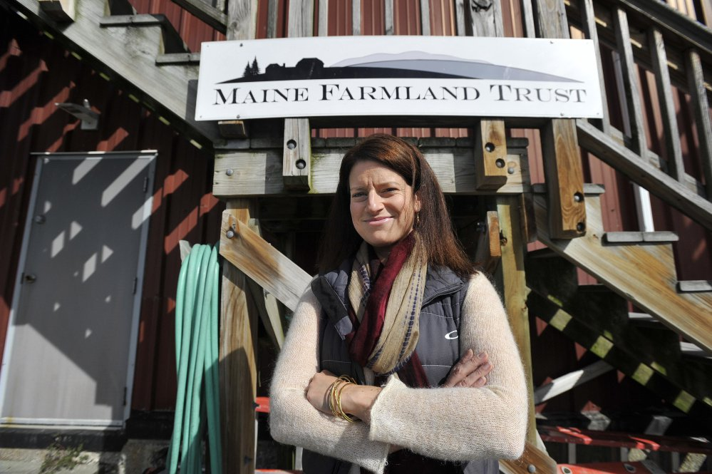 Ellen Griswold, the first Wang Fellow at Maine Farmland Trust.