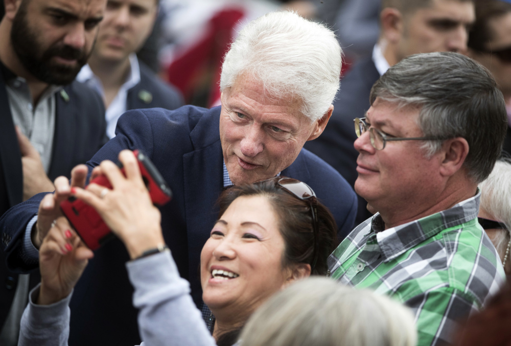 Emails released Friday by WikiLeaks show that Hillary Clinton's team feared the political fallout of a speech that Bill Clinton was set to give to Morgan Stanley executives, just days after his wife's campaign rollout.