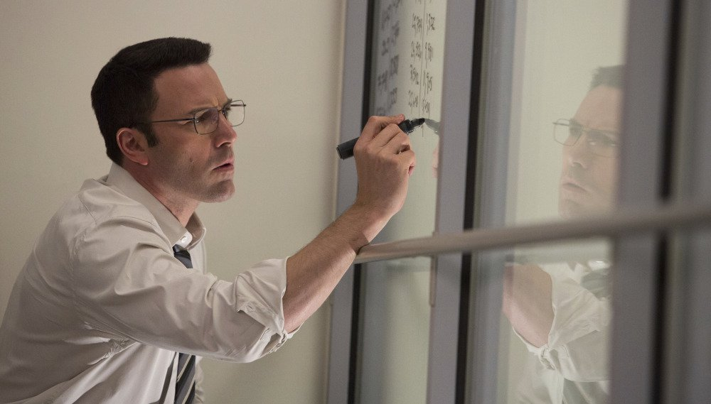 """Ben Affleck plays an autistic mathematician in a scene from the R-rated Warner Bros. thriller """"The Accountant."""""""